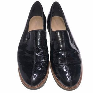 Clarks Black Slip On Loafers Size 8.5 Oxford Shoes